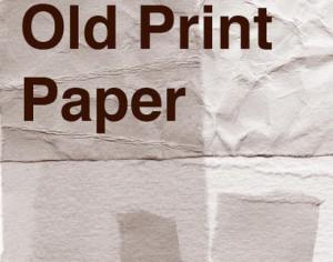 Old Print Heavy Paper Photoshop brush