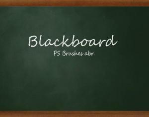 20 Blackboard Ps Brushes abr. vol.3 Photoshop brush