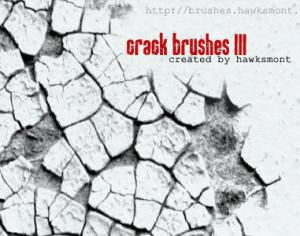 Cracks Brushes III Photoshop brush