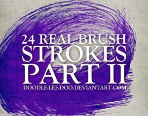 Stroke Free Brushes Photoshop brush