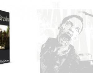 The Walking Dead Zombie Brushes Photoshop brush