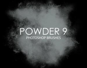 Free Powder Photoshop Brushes 9 Photoshop brush