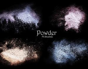 20 Powder PS Brushes.abr Vol.4 Photoshop brush