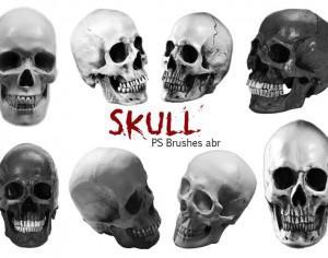 20 Skull PS Brushes abr vol.8 Photoshop brush