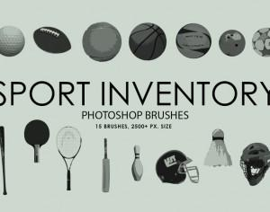 Free Sport Inventory Photoshop Brushes Photoshop brush