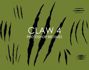 Free Claw Photoshop Brushes 4 Photoshop brush