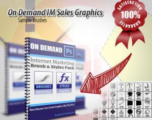 On Demand Internet Marketing Sales Brushes Photoshop brush