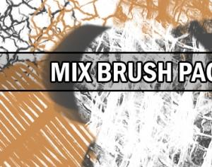 Mix brush pack Photoshop brush