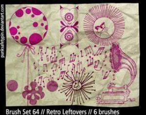 Retro Photoshop Brushes Photoshop brush