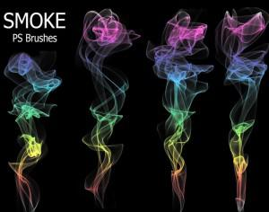 20 Smoke PS Brushes abr. Vol.9 Photoshop brush
