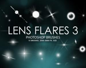 Free Lens Flares Photoshop Brushes 3 Photoshop brush