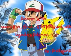 Pokemon Brushez With Trainers And Legendary Pokemons Photoshop brush