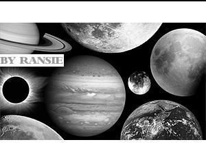 The Universe Photoshop brush