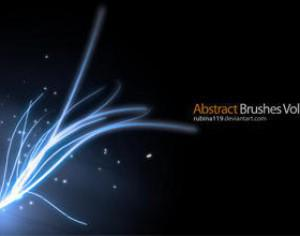 Abstract Brushes Vol5 Photoshop brush