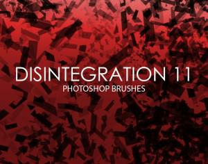 Free Disintegration Photoshop Brushes 11 Photoshop brush