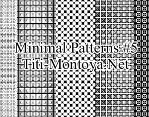 Minimal Patterns #5 Photoshop brush