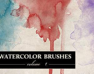 WG Watercolor Brushes Vol1 Photoshop brush
