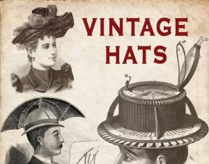 Vintage Hats Photoshop brush