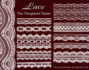 Lace PS Brushes abr vol 6 Photoshop brush
