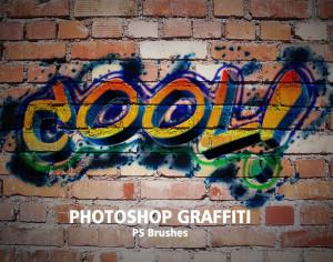 20 Graffiti PS Brushes abr. Vol.1 Photoshop brush