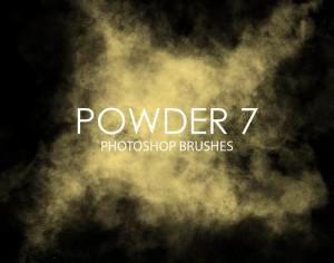Free Powder Photoshop Brushes 7 Photoshop brush