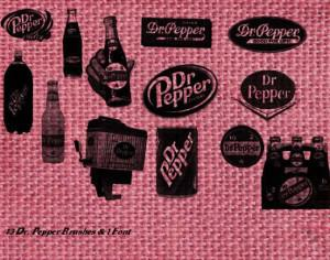 Dr. Pepper Vintage Brushes Photoshop brush