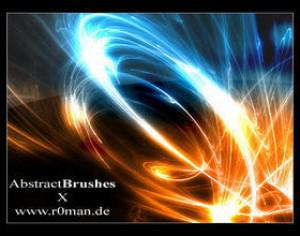 Abstract Brushset X Photoshop brush