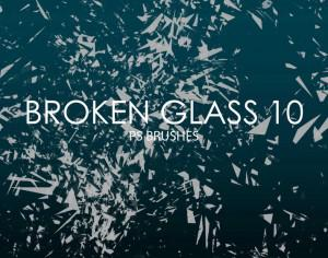 Free Broken Glass Photoshop Brushes 10 Photoshop brush