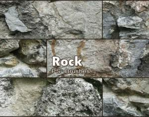 20 Rock Texture PS Brushes abr vol.19 Photoshop brush
