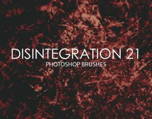 Free Disintegration Photoshop Brushes 21 Photoshop brush