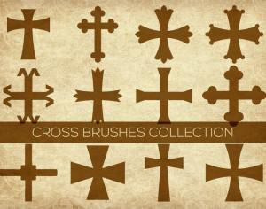 Religious Cross Brushes Photoshop brush