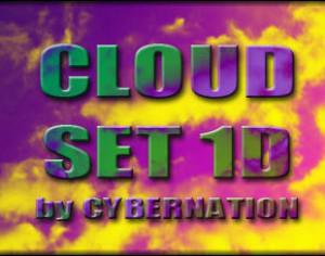 Cloud Set 1D Brushes Photoshop brush
