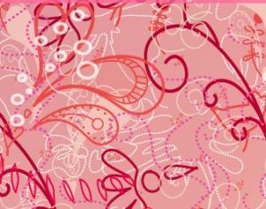 Dotted Swirls and Flowers Photoshop brush