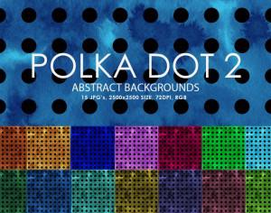 Free Polka Dot Backgrounds 2 Photoshop brush