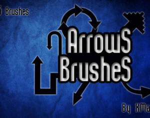 Arrows Brushes By XMarwanX Photoshop brush