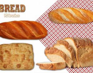 20 Bread PS Brushes abr. Photoshop brush