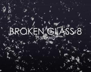 Free Broken Glass Photoshop Brushes 8 Photoshop brush