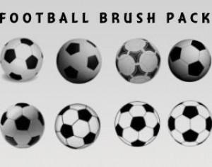 Football Brushes Photoshop brush