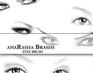 Eyes Photoshop brush