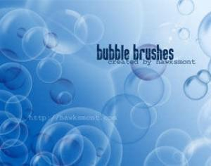 Bubble Brushes for Photoshop Photoshop brush