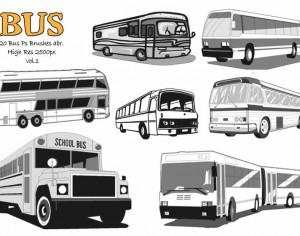 20 Bus Ps Brushes abr. vol.1 Photoshop brush