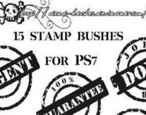 Stamp Brushes Photoshop brush