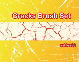 Cracks Brush Set Photoshop brush