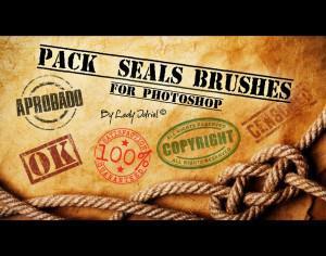 Quality and Guarantee Badges Brushes Photoshop brush