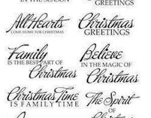 Christmas Text Brushes Photoshop brush