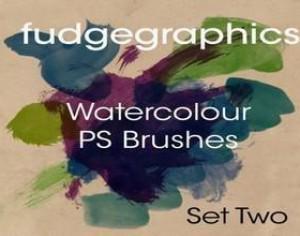 WaterColour Brush Set 2 Photoshop brush
