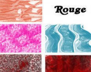 rouge texture inc Photoshop brush