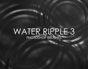 Free Water Ripple Photoshop Brushes 3 Photoshop brush