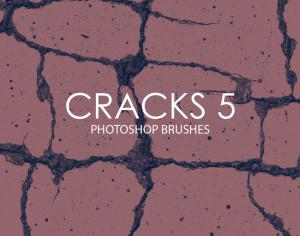 Free Cracks Photoshop Brushes 5 Photoshop brush