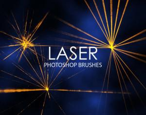 Free Laser Photoshop Brushes Photoshop brush